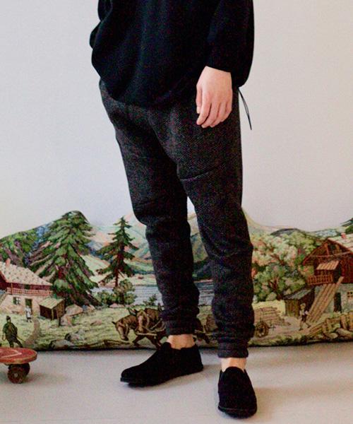 【STORAMA(ストラマ)】【予約販売7月中旬~下旬入荷】Authentic 3D Sweat Pants パンツ(STRM-19K)