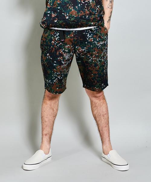 【ROTAR(ローター)】【予約販売5月下旬~6月上旬入荷】German Fleck Camo Easy Shorts ショーツ(rt1935013)