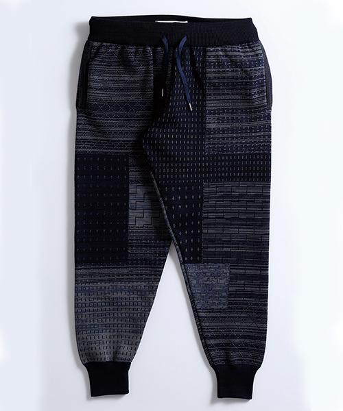 【FDMTL(ファンダメンタル)】【予約販売8月下旬~9月上旬入荷】JOG PATCHWORK PANTS パンツ(FA19-NB31)