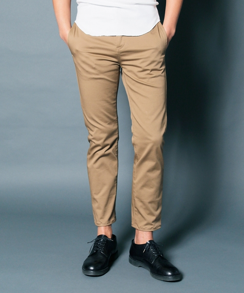 【Magine(マージン)】COMPACT CHINO STRETCH TAPERED NO-P PANTS パンツ(1913-47)