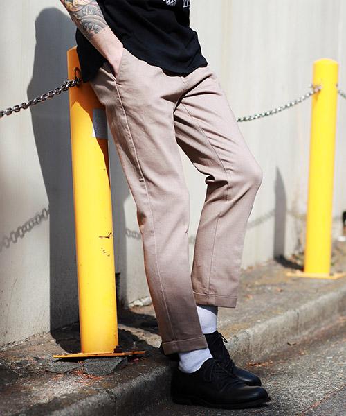 【MROLIVE(ミスターオリーブ)】【予約販売4月末~5月上旬入荷】SUPER STRETCH OVERDYED DENIM -ONE PLEATS TAPERED WORK PANTS パンツ(M-19203)