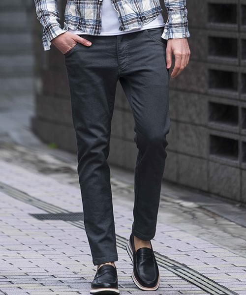 【wjk】【予約販売9月上旬~中旬入荷】tight knit-denim pants パンツ(5823 dj24p)