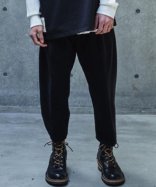 【SEVESKIG(セヴシグ)】【予約販売9月入荷予定】FRENCH PILE PANTS パンツ(PT-SV-KA-1004)