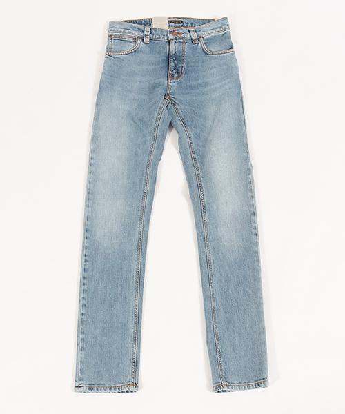 【Nudie Jeans(ヌーディージーンズ)】 【Nudie Jeans(ヌーディージーンズ)】THIN FINN LIGHT BLUE COMFORT デニムパンツ(112985032)