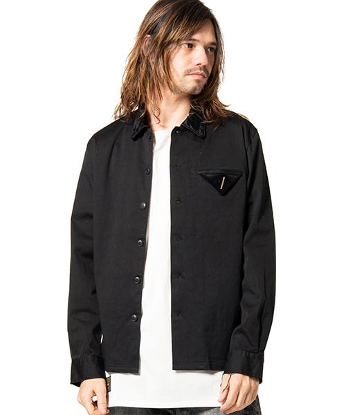 【glamb(グラム)】【予約販売4月下~5月上旬入荷】 Janet SH ジャネットシャツ(GB0219-SH08)