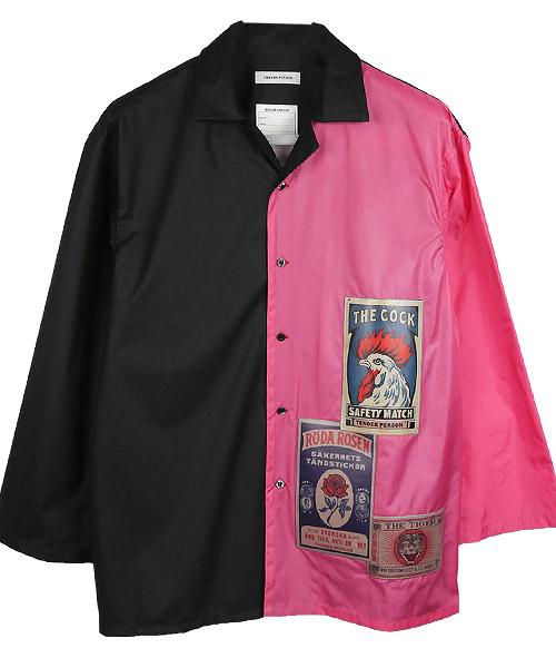 【TENDER PERSON(テンダーパーソン)】【予約販売7月上旬~中旬入荷】LONG SLEEVE OPEN COLLER SHIRT シャツ(CB-TO-2218)
