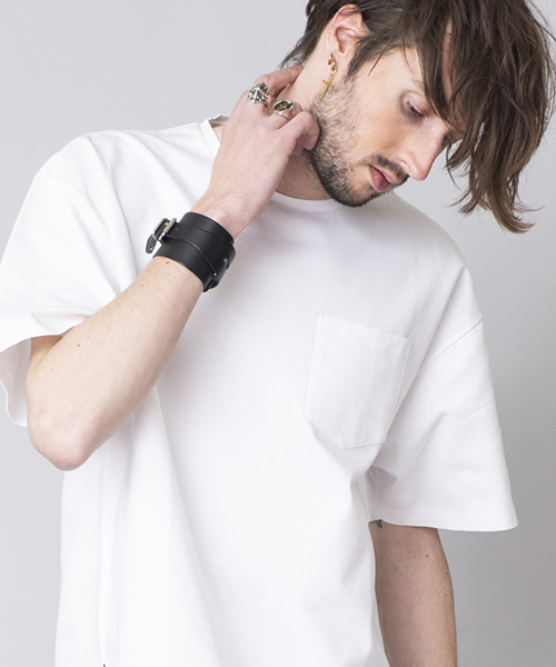 【NO ID.(ノーアイディー)】【予約販売6月上旬~中旬入荷】CパールヴァティシルケットスムースBIG-T Tシャツ(844019-905T)