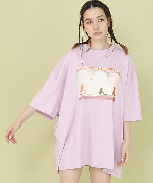 【Little sunny bite(リトルサニーバイト)】【予約販売4月入荷予定】litle sunny bite ×muppets photo tee Tシャツ(LSB-LTOP-151L)