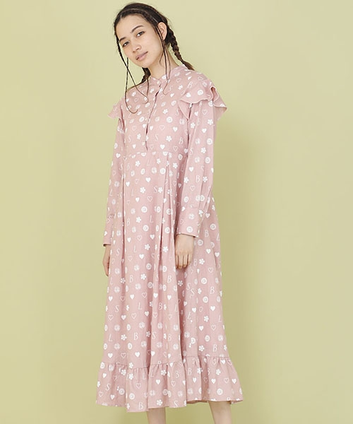 【Little sunny bite(リトルサニーバイト)】【予約販売4月入荷予定】LSB original hemp dress ワンピース(LSB-LOP-127L)