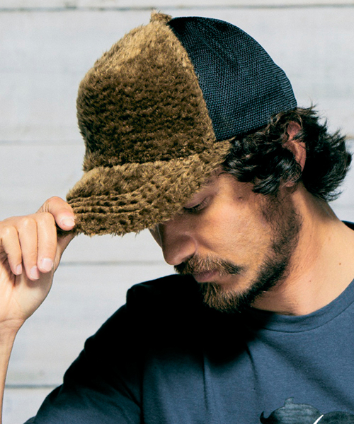 【daboro(ダボロ)】TOY POO MESH CAP キャップ(DAC053)