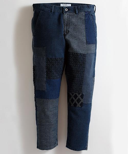 【FDMTL(ファンダメンタル)】 【FDMTL(ファンダメンタル)】【予約販売1月下旬~2月中旬入荷】CROPPED BORO PANTS 2YR パンツ(FA20-PN13U)