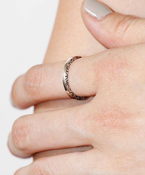 【VIVIFY(ビビファイ)】 【VIVIFY(ビビファイ)】【予約販売ご注文から1ヶ月後出荷】SideArabesque Ring 指輪(VFR-130)