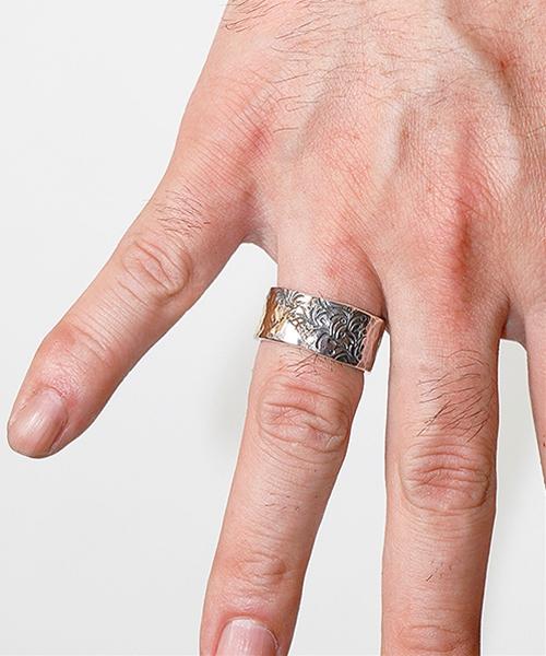【VIVIFY(ビビファイ)】【予約販売ご注文から1ヶ月後出荷】Gold Patch Ring(Arabesque) 指輪(VFR-133)