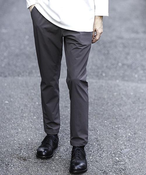 【MROLIVE(ミスターオリーブ)】COOL TOUCH 4WAY STRETCH NYLON -RELAX SLIM PANTS パンツ(M-20136)