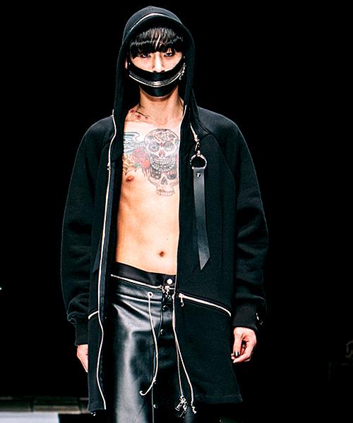 【ACUOD by CHANU(アクオドバイチャヌ)】Hood Zip Up パーカー(AC-RGL-HDZU)