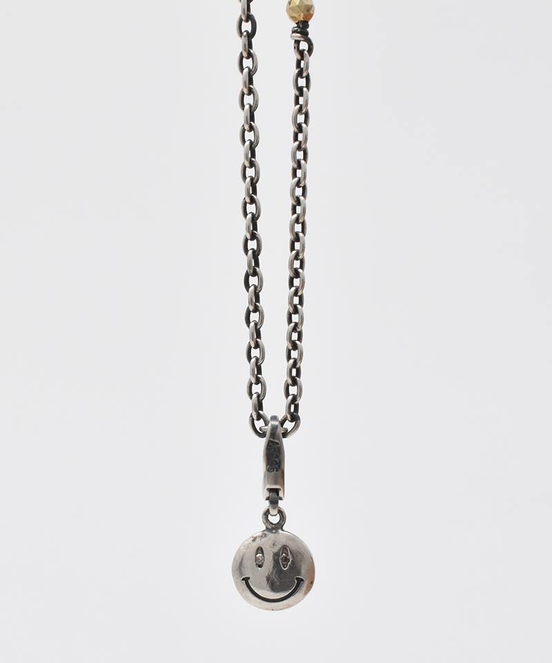 【IDEALISM SOUND(イデアリズム サウンド)】【予約販売ご注文後から1ヶ月後出荷】Silver Smile Necklace with Diamond ネックレス(S19081)