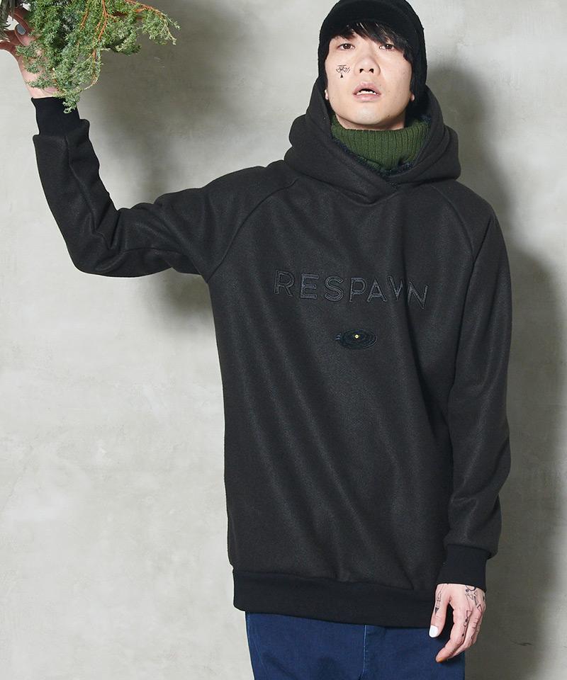 【STORAMA(ストラマ)】【予約販売7月上旬~中旬入荷】Melton hoodie パーカー(STRM20-12)