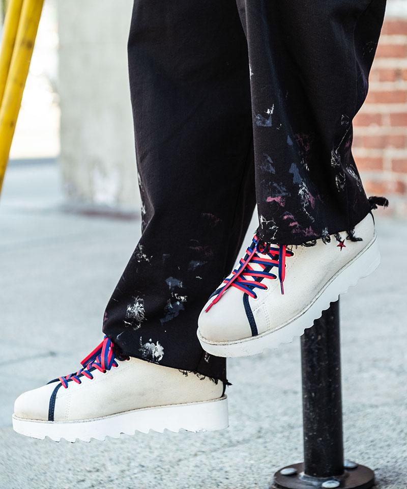 【glamb(グラム)】Shark sole sneakers-シャークソールスニーカー(GB0220-AC04)