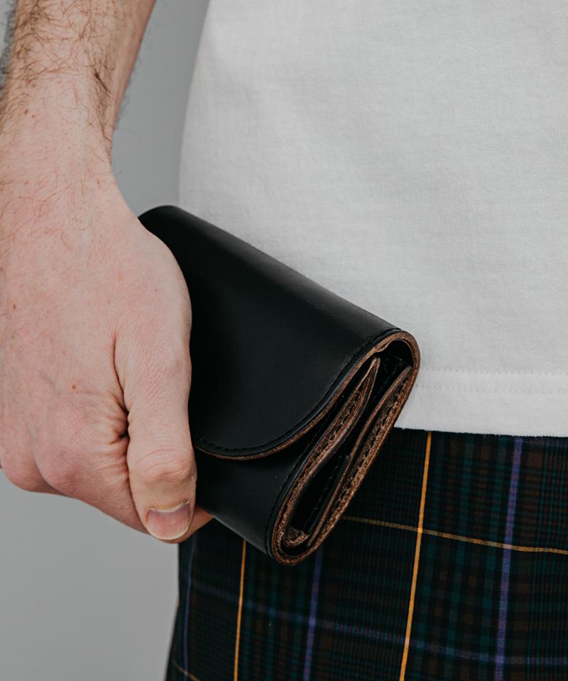【MR.OLIVE E.O.I】【予約販売6月上旬~中旬納品】HORWEEN CHROMEXCEL LEATHER -COMPACT WALLET 財布(ME115H)