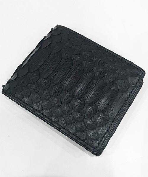 【DECADE(ディケイド)】【予約販売ご注文から1週間後出荷】Python Leather Wallet 財布(DCD-01202P)