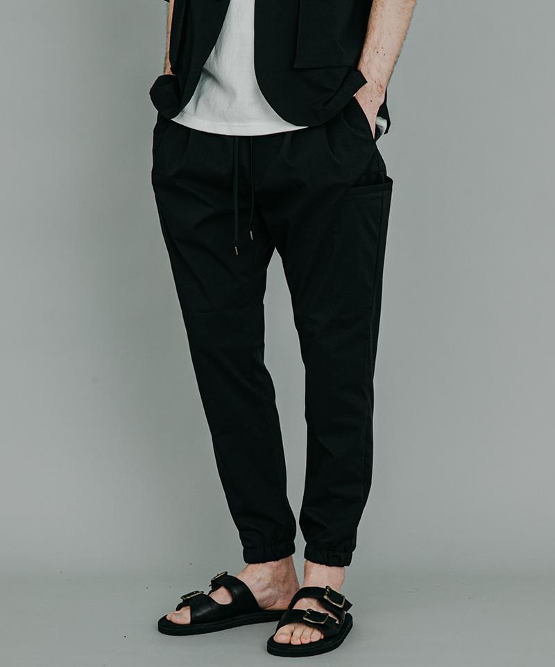 【MROLIVE(ミスターオリーブ)】COOLMAX RIPSTOP -TWO PLEATS JOGGER PANTS パンツ(M-20212)