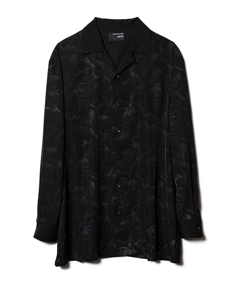【glamb(グラム)】Crow shirts クロウシャツ(GB0220-NK01)