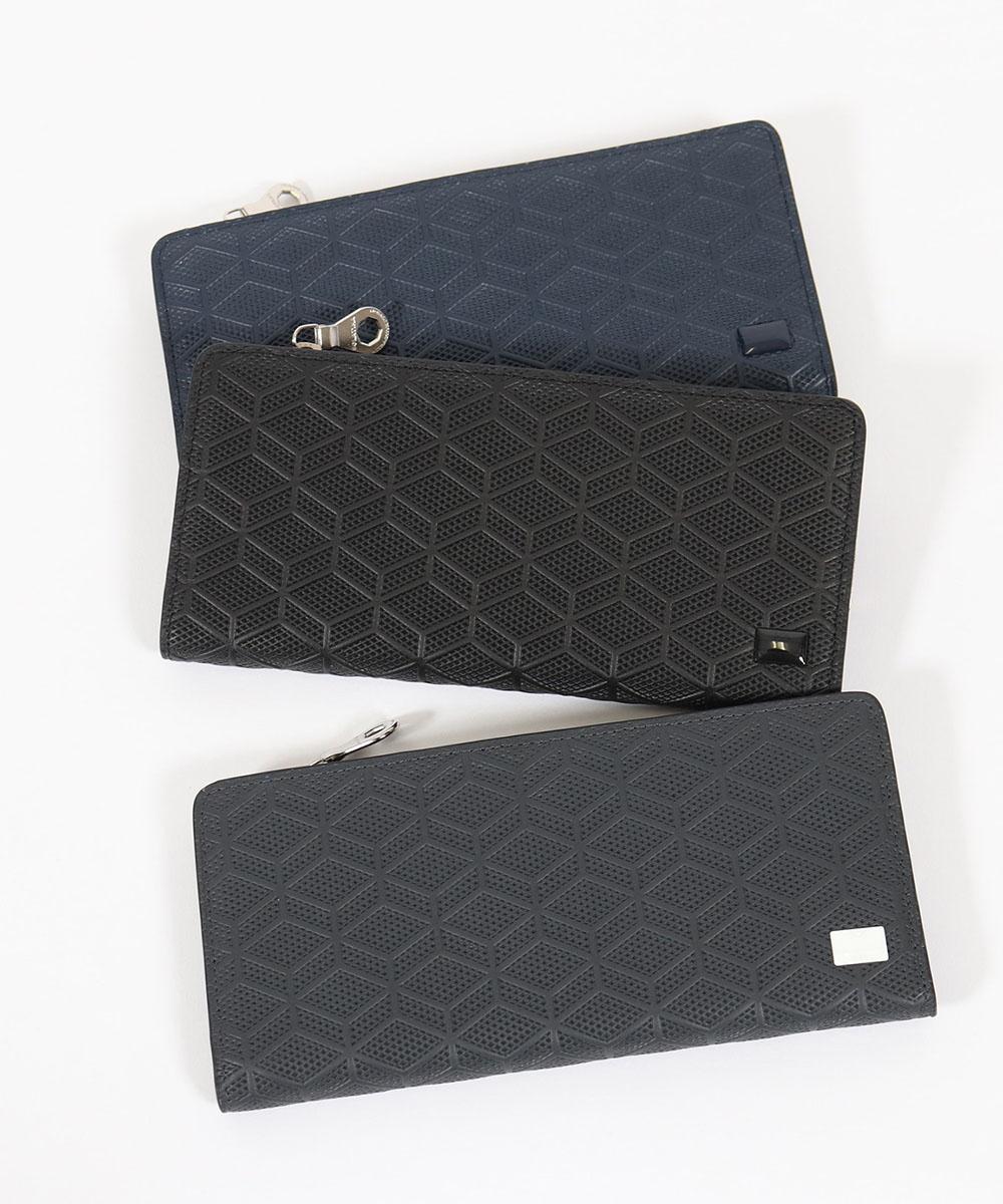【SOLATINA(ソラチナ)】イタリアンカウレザー型押し長財布(SW-70051)