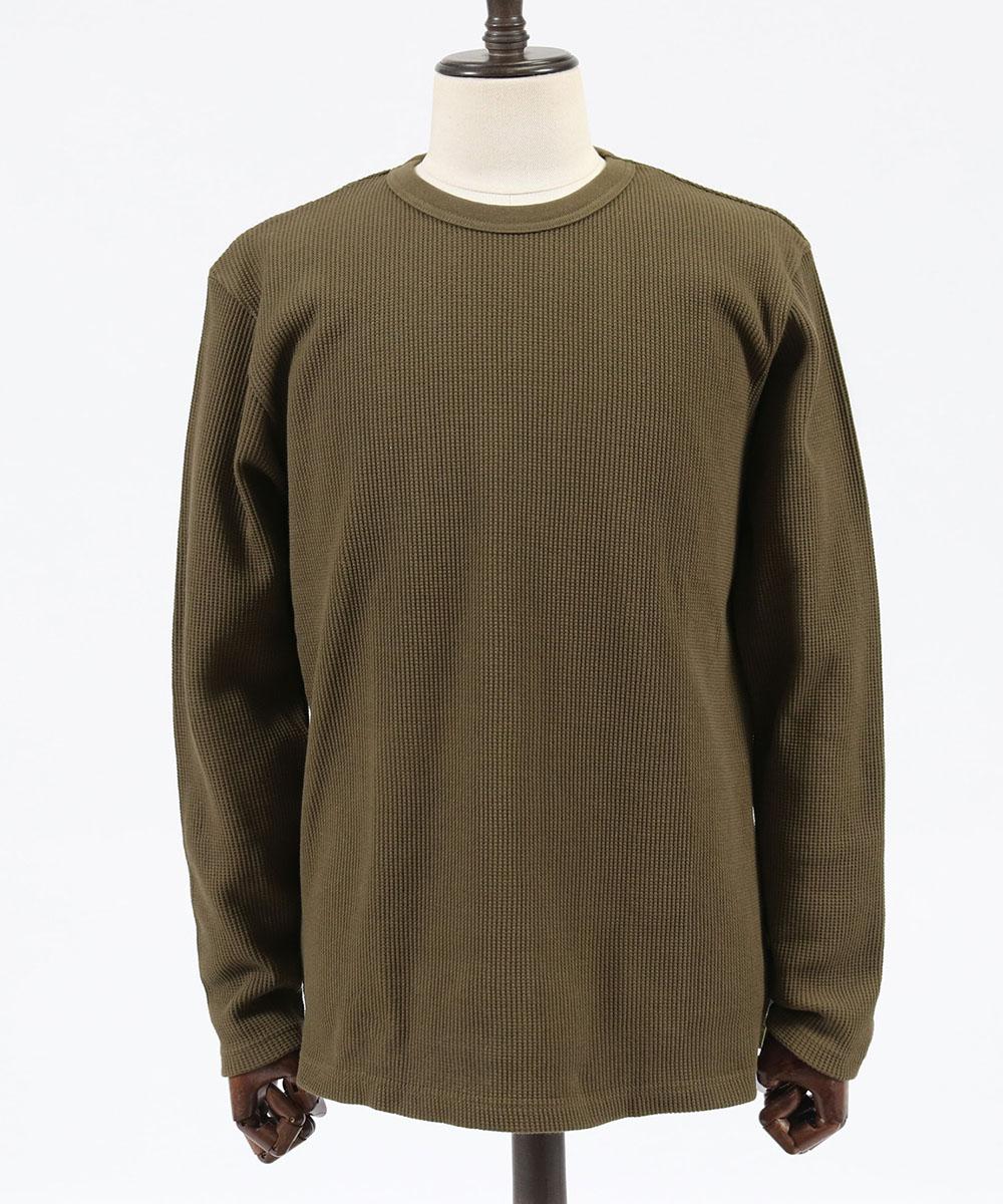 【junhashimoto(ジュンハシモト)】OVER SIZE WAFFLE T Tシャツ(1102010010)