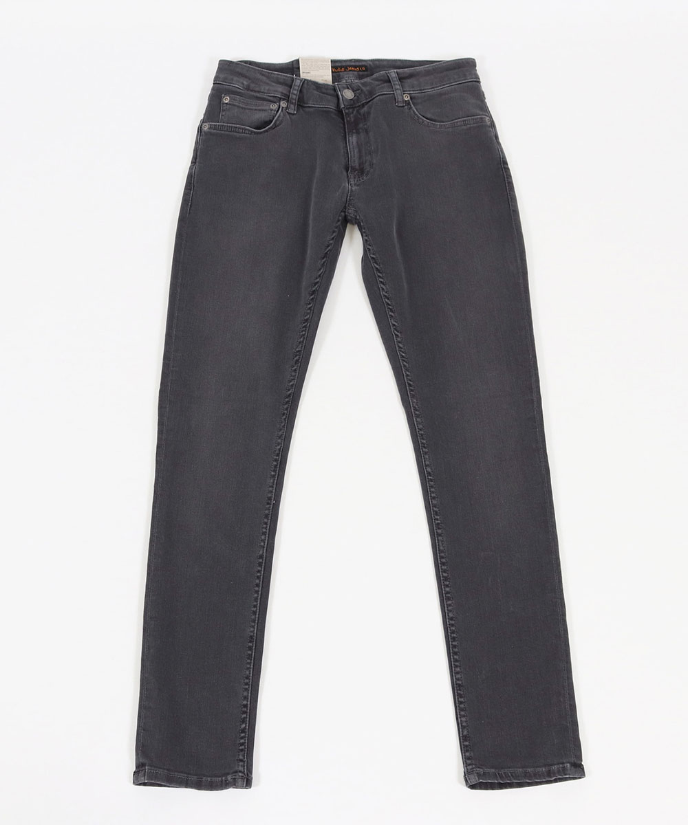 【Nudie Jeans(ヌーディージーンズ)】SKINNY LIN534 CONCRETE GREY デニムパンツ(113176030)