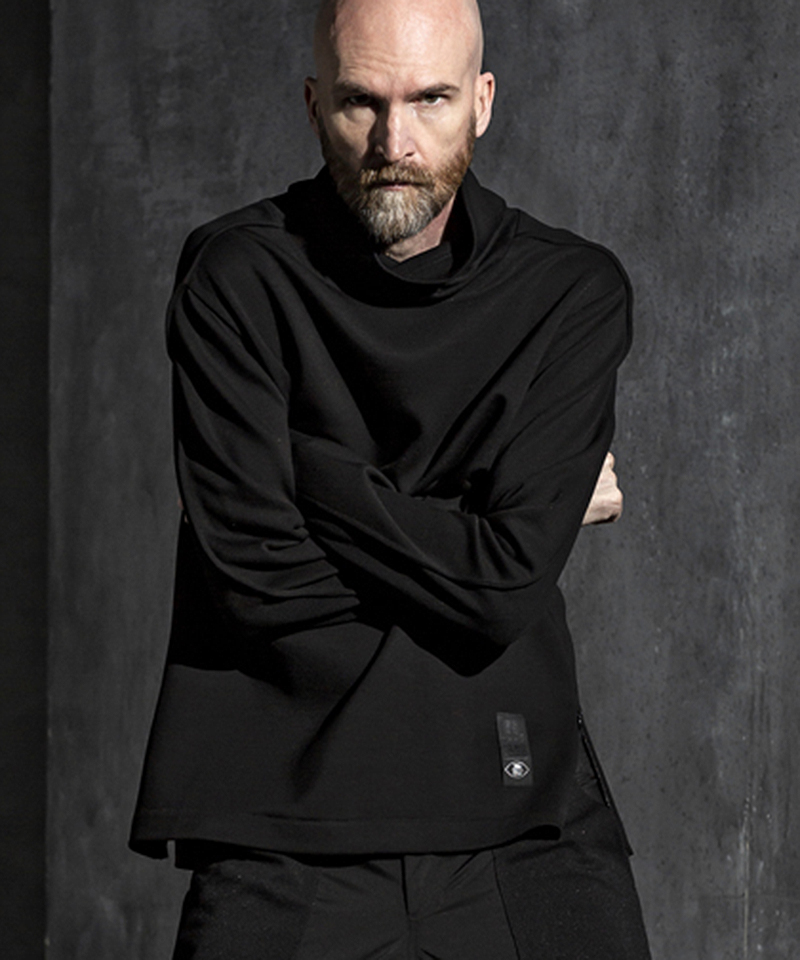 【C DIEM(カルペディエム)】【予約販売9月上旬~中旬入荷】long sleeve t-shirts 長袖モックネック(MST-20004)
