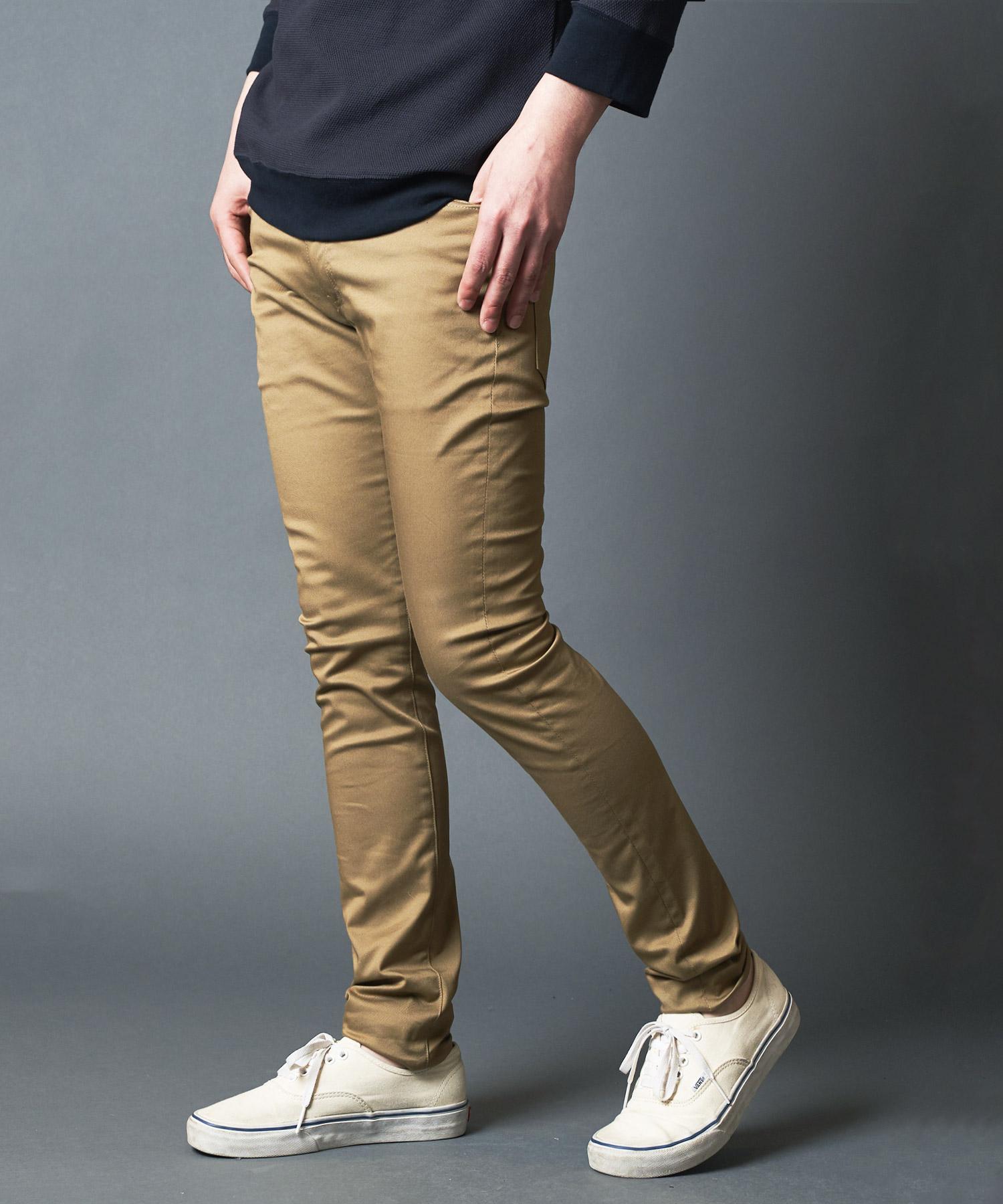 【Magine(マージン)】COMPACT CHINO ULTRA SKINNY 5PKT PANTS パンツ(2023-15)