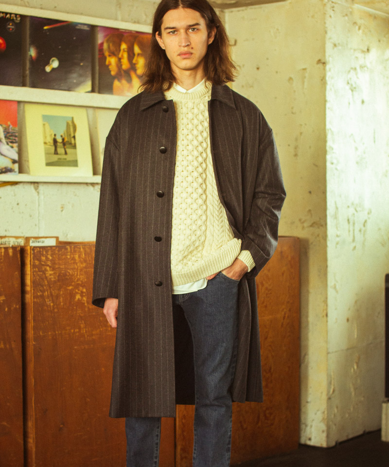 【FACTOTUM(ファクトタム)】【予約販売9月中旬~下旬入荷】W-Ca ClassicBalmacaan Coat(01030340)