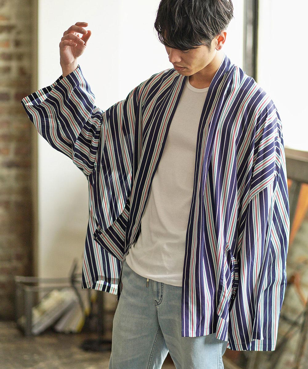 【CAMBIO(カンビオ)】Stripe Over Size Gown