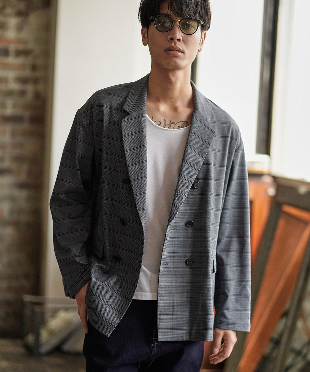 新入荷 流行 CAMBIO カンビオ Light feeling 誕生日 お祝い Double Jacket Tailored