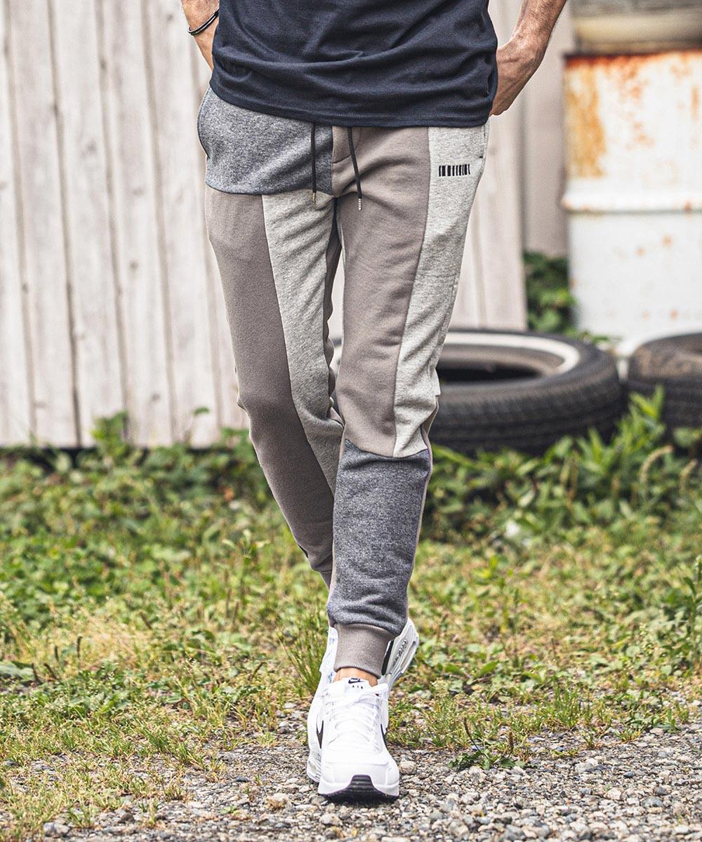 【felkod(フィルコッド)】【予約販売9月中旬~下旬】Blocking Sweat Pants(F20W150)