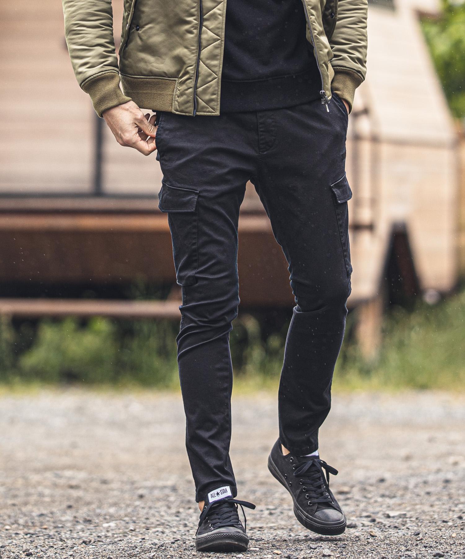 【felkod(フィルコッド)】【予約販売9月中旬~下旬】Tapered Skinny Cargo Easy Pants(F20W290)