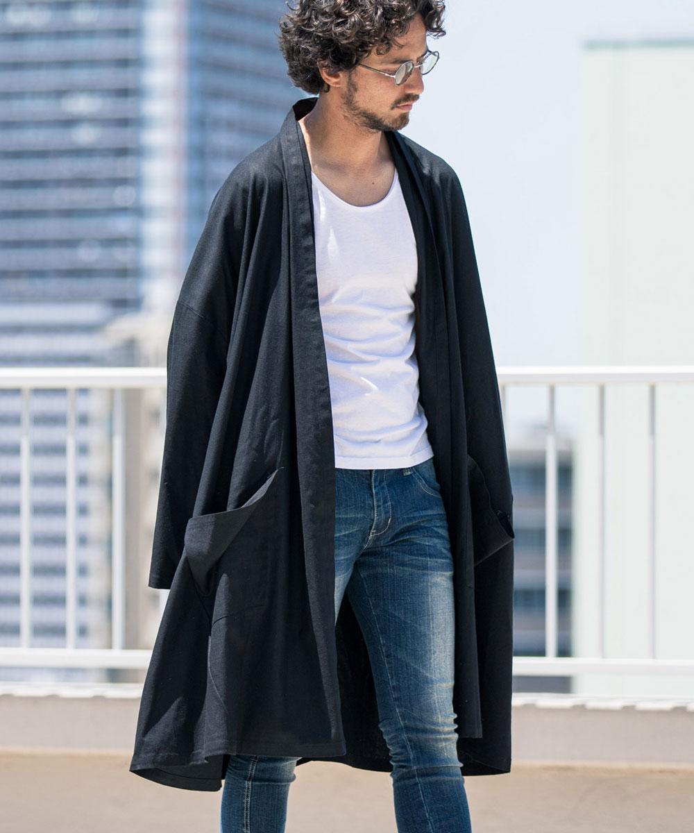 【CAMBIO(カンビオ)】【予約販売サイズ・カラーにより納期異なる】Long Sleeve Over Size Gown ガウン