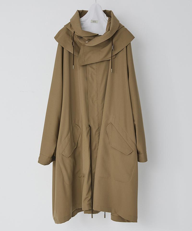 【CASSY(キャシー)】【予約販売9月中旬~下旬入荷】FINE WOOL GABARDINE MOD COAT モッズコート(PBM-C04-100)