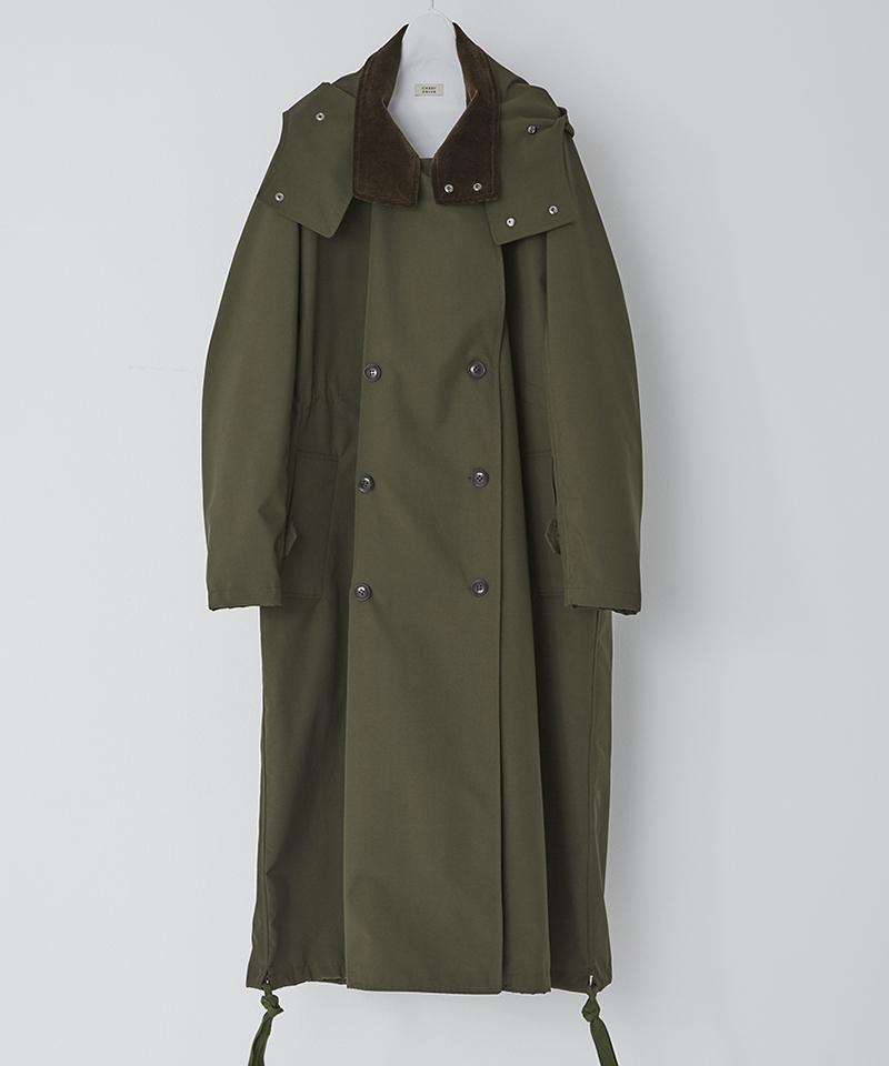 【CASSY(キャシー)】【予約販売9月中旬~下旬入荷】GOOSE SHELL COAT コート(PBM-C01B-150)