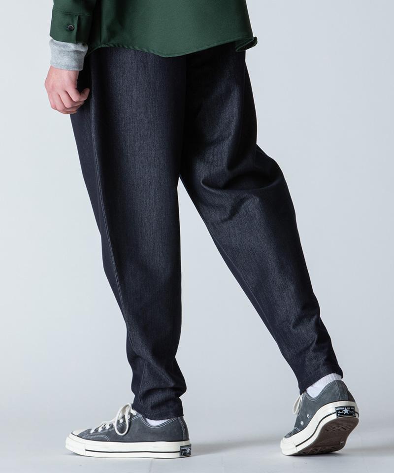【rehacer(レアセル)】【予約販売9月下旬~10月上旬入荷】Comfort Easy Tuck Denim タックデニムパンツ(1200500054)