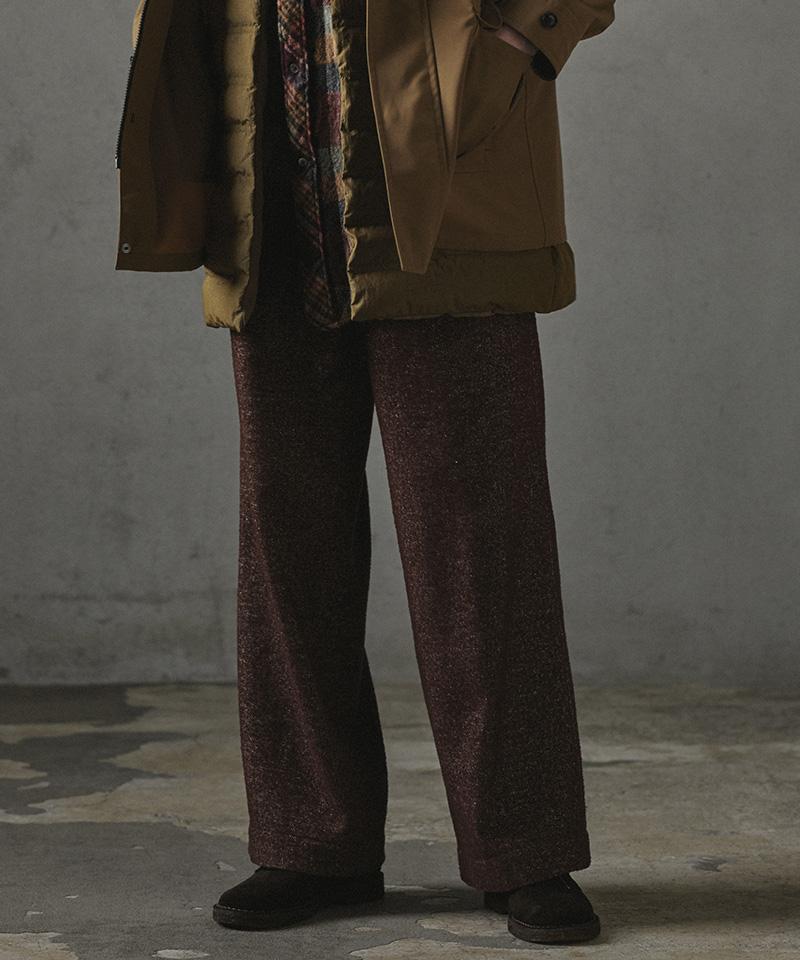 【CASSY(キャシー)】【予約販売10月中旬~下旬入荷】WOOL HERRINGBONE WORK PANTS パンツ(PBM-P05-106)