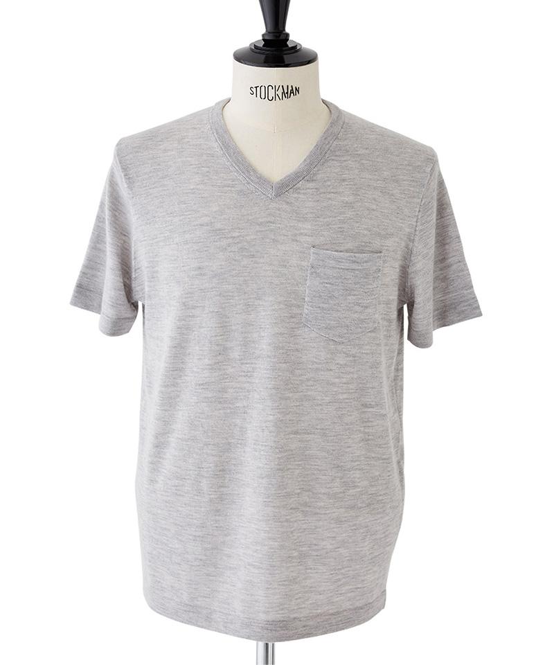 【CASSY(キャシー)】【予約販売9月中旬~下旬入荷】V-NECK S-S Tシャツ(CXM-R56-100)
