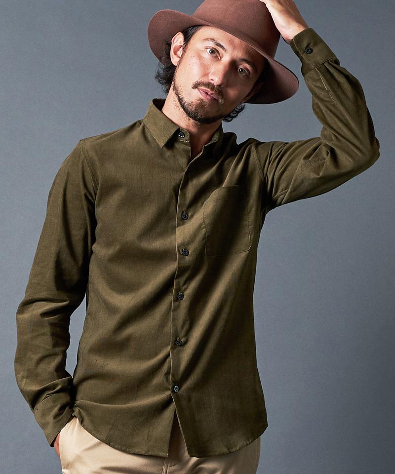 【Magine(マージン)】【予約販売9月下旬~10月上旬入荷】CORDULOY DRESS SHIRTS シャツ(2031-11)