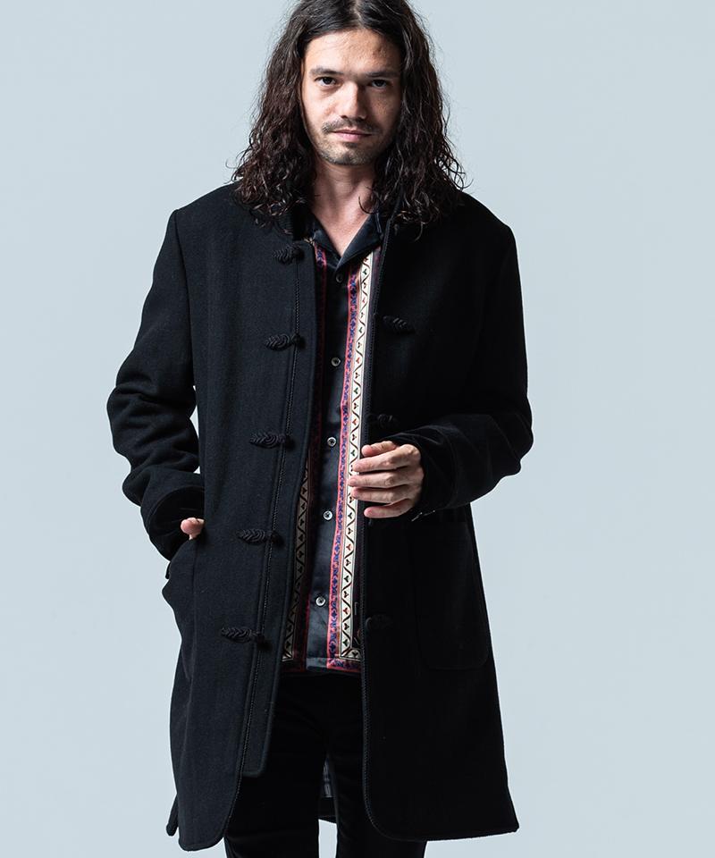 【glamb(グラム)】【予約販売12月下旬~1月上旬入荷】Melton china coat メルトンチャイナコート(GB0320-JKT15)
