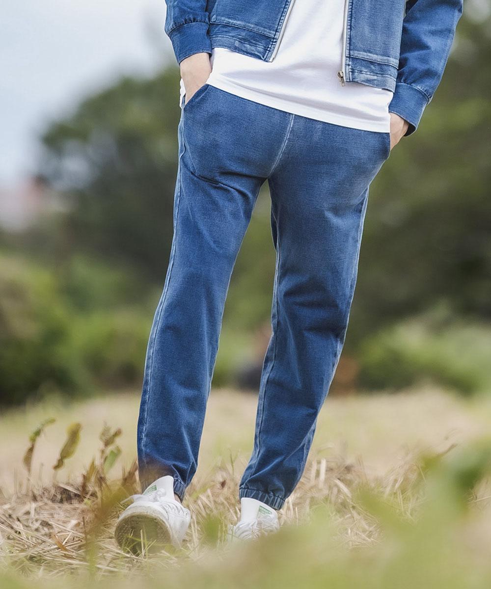 【CAMBIO(カンビオ)】【予約販売10月中旬~下旬入荷】Cut Denim Easy Pants パンツ(CAM20AW-019)