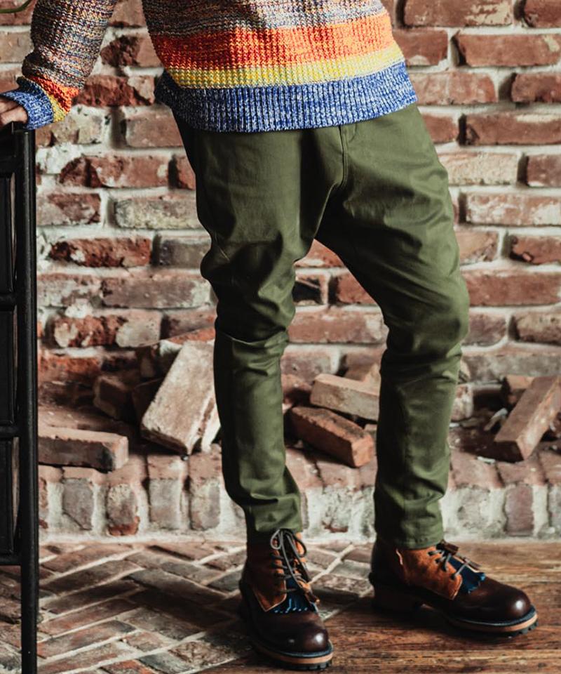 【glamb(グラム)】【予約販売11月下旬~12月上旬入荷】Simon jodhpurs pants シモンジョッパーズパンツ(GB0320-P11)