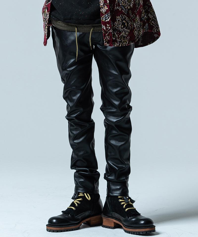 【glamb(グラム)】【予約販売11月上旬~中旬入荷】PU leather pants ピーユーレザーパンツ(GB0320-P13)