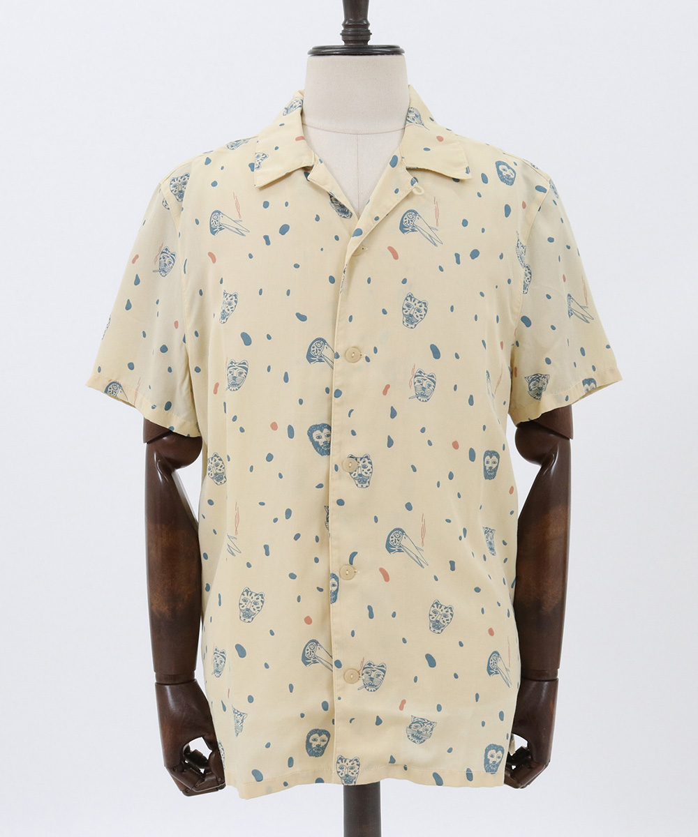 【Nudie Jeans(ヌーディージーンズ)】ARVID Misfit Creatures Sシャツ(140653)