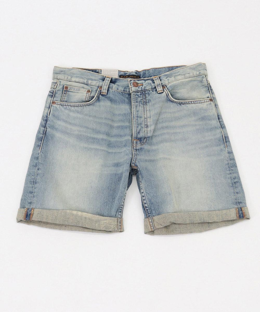 【Nudie Jeans(ヌーディージーンズ)】JOSH SHORTS LIGHT GLOW パンツ(1113355)