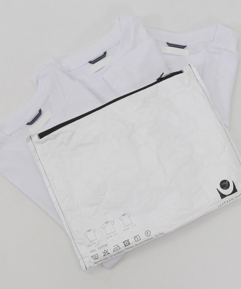 【junhashimoto(ジュンハシモト)】TRIANGLE PACK Tシャツ(1102010029)